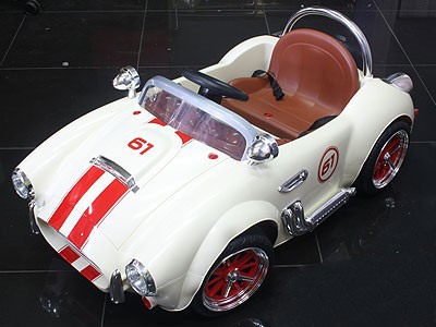 Retro Cobra Ride-Along Radio Control & Manual Cobra Toy Car