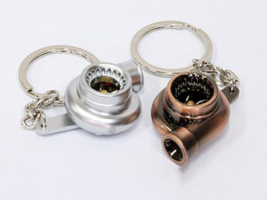 Miniature Turbo Charger Keyring-0