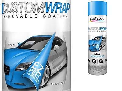 Dupli-Color Custom Wrap Renovating Coating (Blue)