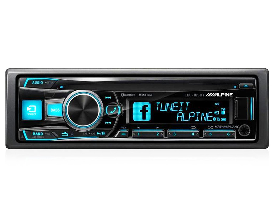 Alpine CDE-185BT Mp3 with USB and Bluetooth