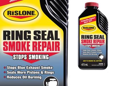 Rislone Ring Seal Smoke Repair on