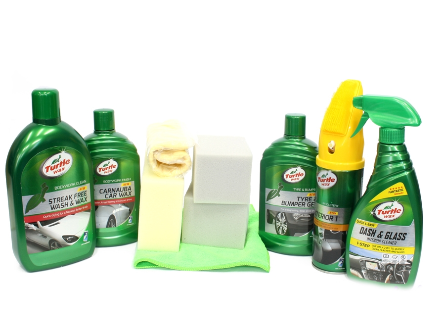 Turtle Wax Car Care Cleaning Kit