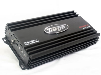 Targa Dynamite 2500w RMS Monoblock Amplifier