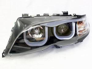 Suitable for E46 U-Shape LED Headlights (black)-0
