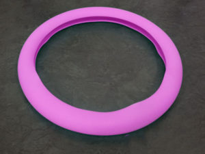 NX Silicon Steering Wheel Cover (pink)-0