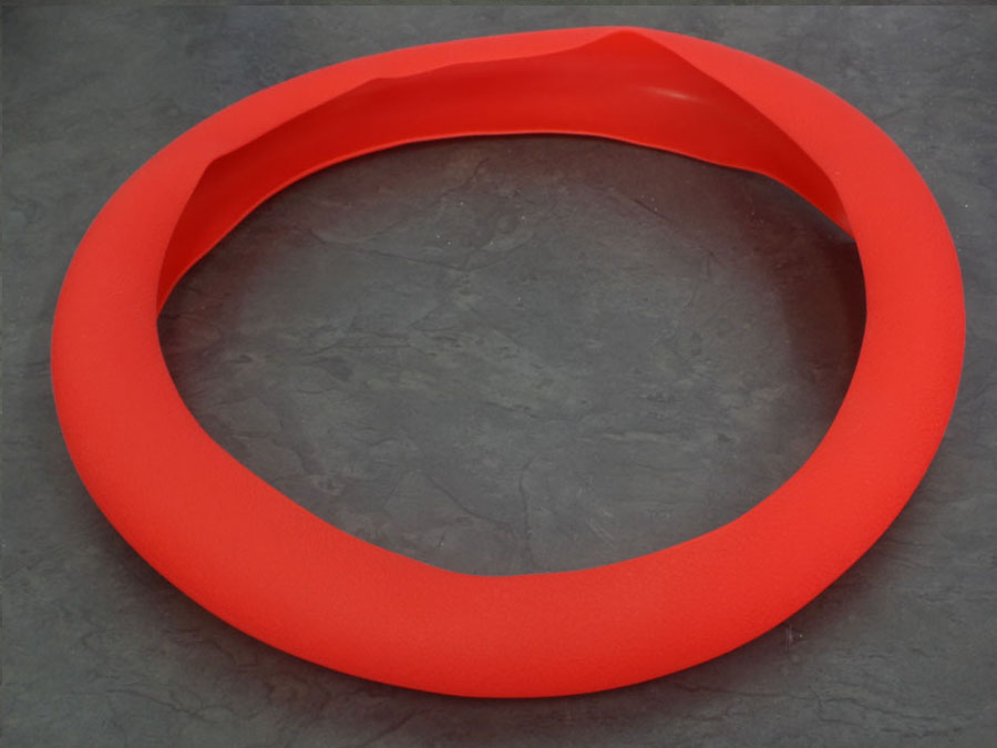 NX Silicon Steering Wheel Cover (red)
