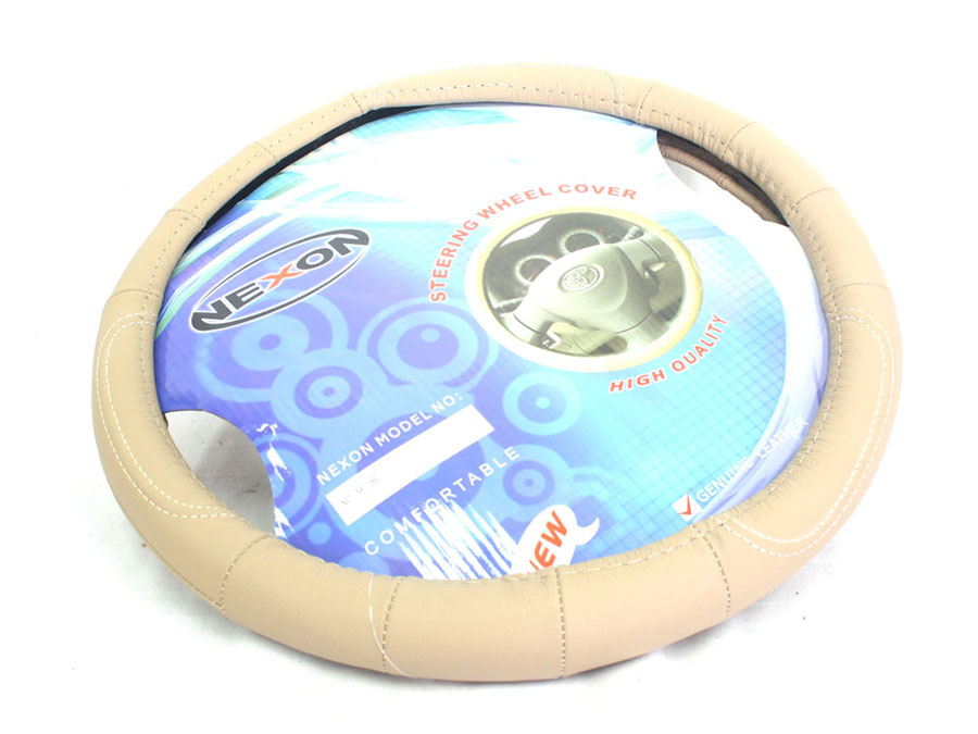 NX Steering Wheel Covers Beige