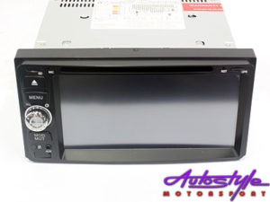 ICE Power Double Din DVD with GPS Media System (Toyota Fortuner)-0