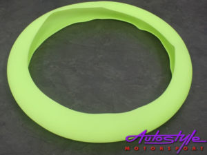 NX Silicon Steering Wheel Cover (green)-0