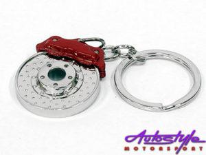 Miniature Brake Pad & Caliper Keyring-0