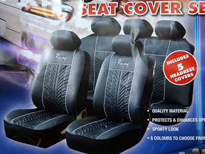 Seat Cover Grey-0