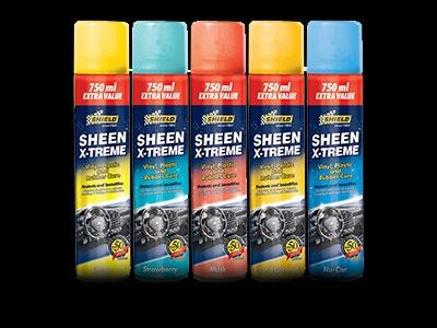 Shield Sheen Xtreme Vinyl Interior Cleaner (musk)