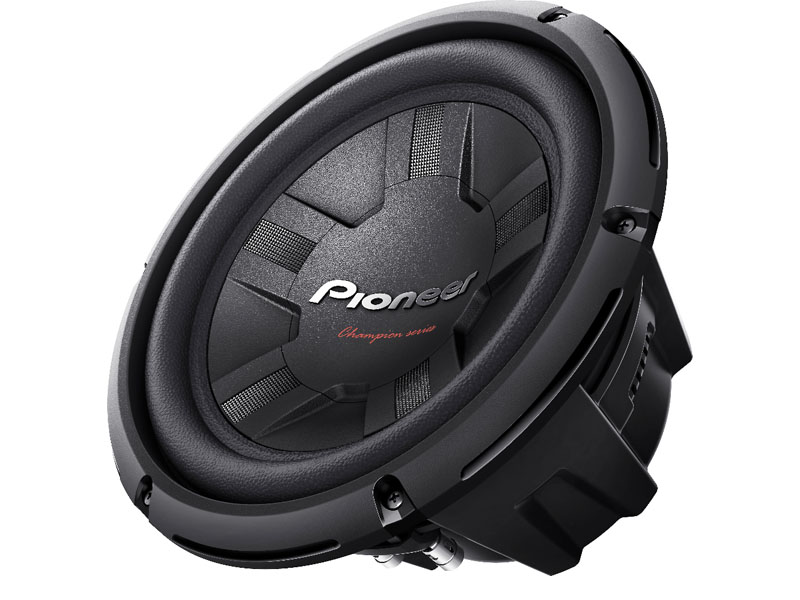Pioneer TS-W261D4 10″ Champion Series 1200w Subwoofer