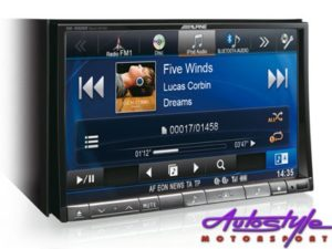 "Alpine 8"" Double Din DVD with Navigation-20293"