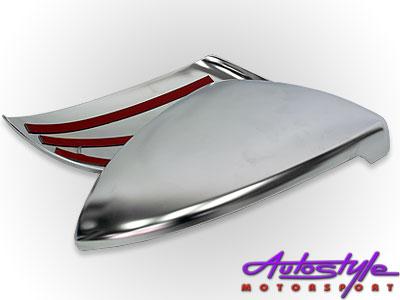 VW Golf MK7 Titanium Silver Mirror Covers (pair) Non Gti