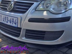 VW Polo Vivo 2010 Cupra Front Spoiler-22526