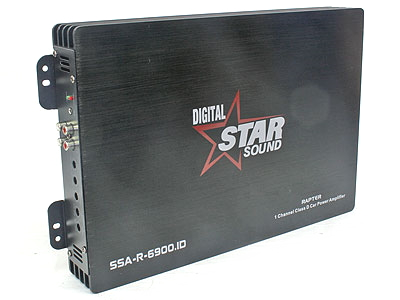 Starsound 1600rms 1ohm Digital Amplifier