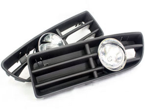 VW Jetta Mk4 Bumper Foglight & Grille Kit-0