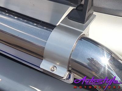 Universal Satin Black Bar Bracket for Spotlamps 66-71mm-20555