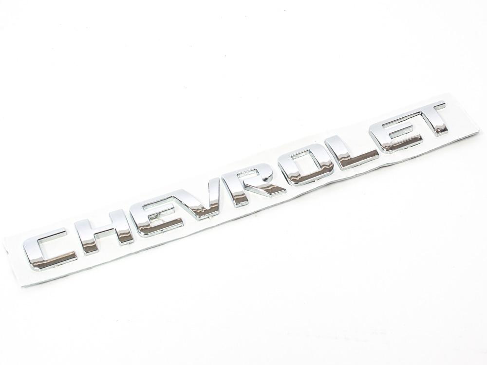 Chevrolet Gold Sticker Badge