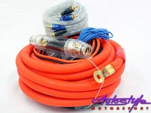 Powerbass 0-Gauge Car Audio Wiring Kit-0