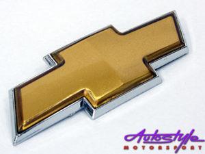 Chevrolet Gold Sticker Badge-0