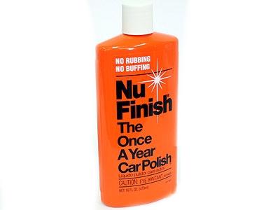 NuFinish Car Polish Liquid