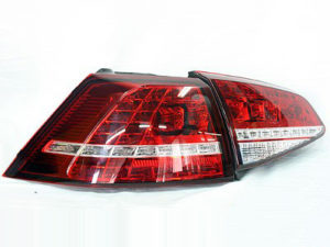 VW Golf MK7 LED Red Tailights (set)-0