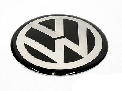 VW Wheel Decal Center Cap Stickers 65mm (set of 4)