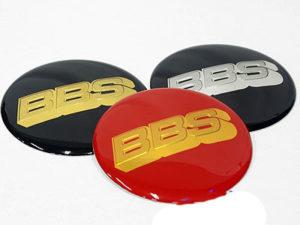 BBS Wheel Decal Center Cap Stickers 60mm (set of 4)-0