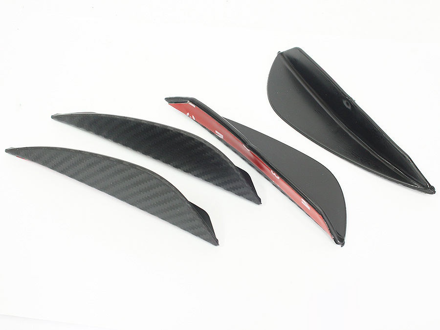 Universal Bumper Carnard Arrow Splitters (13cm, 4pc set)