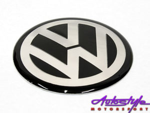VW Wheel Decal Center Cap Stickers 65mm (set of 4)-0