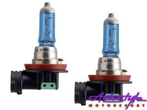 Philips H11 55w CrystalVision Headlight Bulbs-0