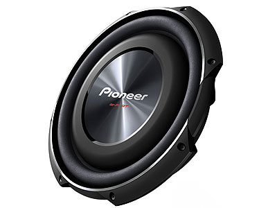 Pioneer TS-SW3002S4 12″ Shallow Mount 1500w Subwoofer
