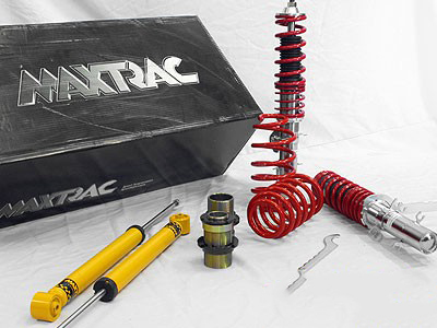 Maxtrac Coil over kit suitable for Bmw E46 4cylinder