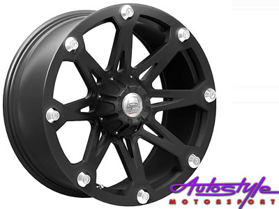 15″ A-Line Hazard 6/139 Alloy Wheels