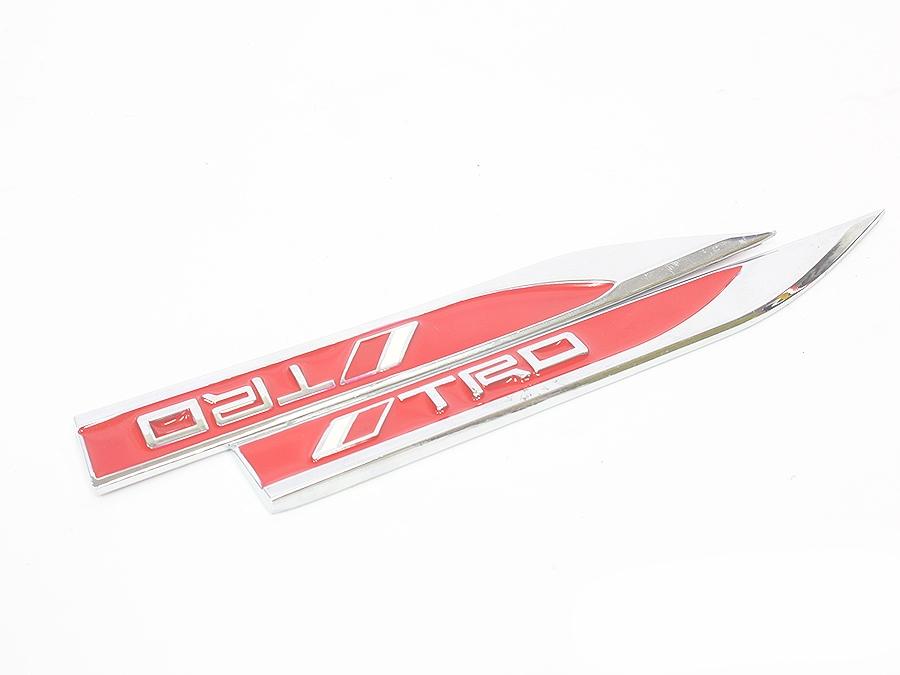 Toyota TRD Fender Badges (pair)