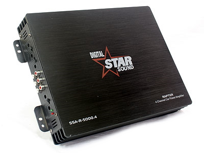 Starsound Rapter 5000 4ch Amplifier