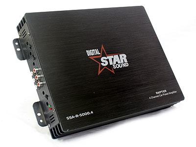 Starsound Rapter 5000 4ch Amplifier