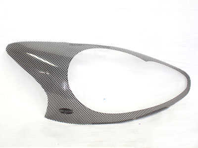 Toyota Aygo 2011+ Carbon Look Headlight Shields
