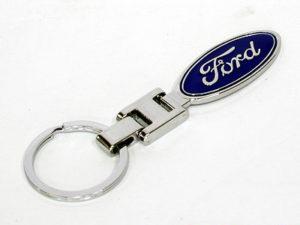 Ford Logo Chrome Keyring-0