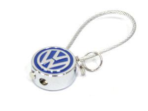 VW Logo & Rope Keyring-0