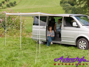 Retractable Vehicle Awning Tent (3.2m)-0