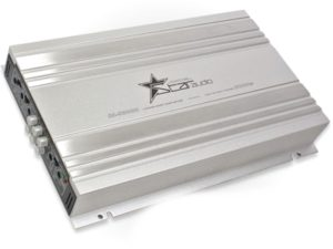 Fire Star Audio 3000w 4channel Silver Amplifier-0