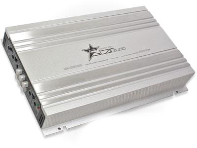 Fire Star Audio 3000w 4channel Silver Amplifier