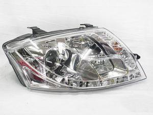 Audi TT 99-06 DRL Chrome Headlights (pair)-0