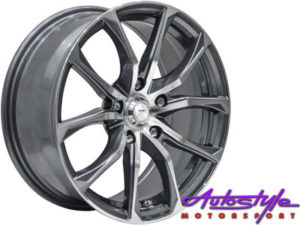 "15"" A-Line Mischief 4/100 & 4/108 Alloy Wheels-0"