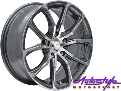 15″ A-Line Mischief 4/100 & 4/108 Alloy Wheels