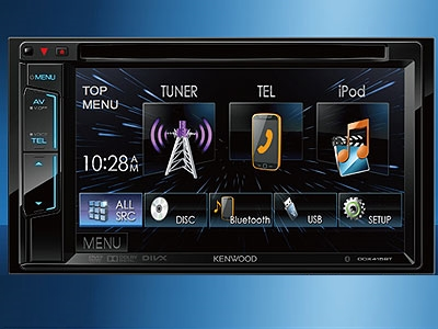 Kenwood DDX415BTM Double Din DVD with Bluetooth