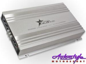 Fire Star Audio 3000w 4channel Silver Amplifier-0